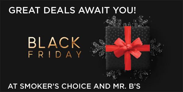 Black Friday Deals at Smoker